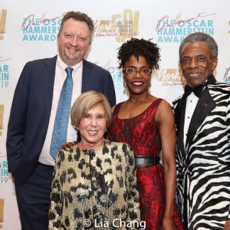 Andy Hammerstein, Charlayne Woodard, Riki Kane Larimer, André De Shields. Photo by Lia Chang