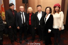 Tzi Ma with his family. Photo by Lia Chang