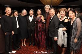 Tony Jee, June Jee, Jason Ma, Jacinta Ma, Geoff Lee, Tzi Ma, Chung Seto, Nancy Chu. Photo by Lia Chang