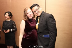 Laura Brandel and Timothy Huang. Photo by Lia Chang