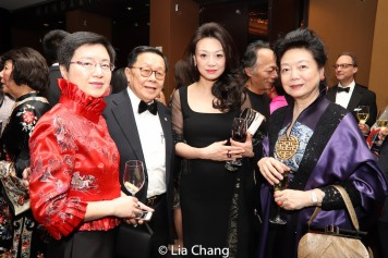 Henry S. Tang and guests. Photo by Lia Chang