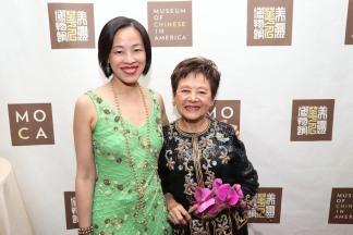 Lia Chang and The Honorable Mae Yih. Photo by Lia Chang