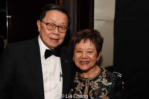 Henry Tang and The Honorable Mae Yih. Photo by Lia Chang