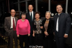 The Honorable Mae Yih with her family. Photo by Lia Chang