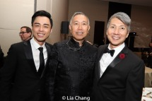 Jonny Lee, Jr., Rocky Chin and Jason Ma. Photo by Lia Chang