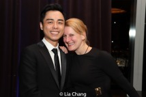 Jonny Lee, Jr. and Kristen Lee Rosenfeld. Photo by Lia Chang