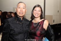 Rocky Chin and Jacinta Ma. Photo by Lia Chang