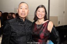 Rocky Chin and Jacinta Ma. Photo by Lia Chang