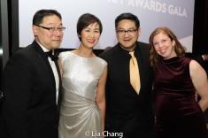 Ed Lin, Cindy Cheung, Timothy Huang and Laura Brandel. Photo by Lia Chang