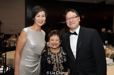 Cindy Cheung, The Honorable Mae Yih and Ed Lin. Photo by Lia Chang