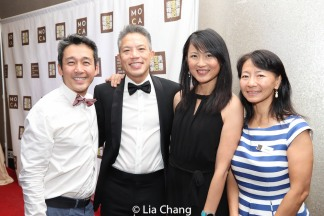Kenneth Eng, Raymond Tsao, Renny Shih and Yue Ma. Photo by Lia Chang