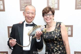 Greg Ho and Linda Sanchez. Photo by Lia Chang