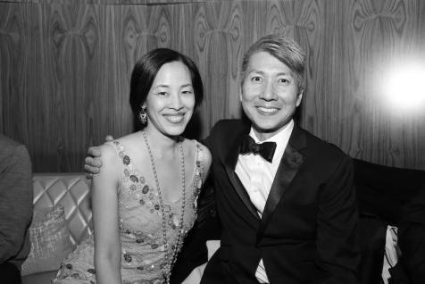 Lia Chang and Jason Ma. Photo by Garth Kravits