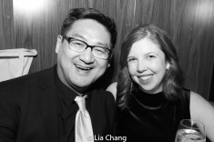 Timothy Huang and Laura Brandel. Photo by Lia Chang