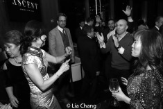 MOCA's afterparty in The Ascent Lounge in New York. Photo by Lia Chang