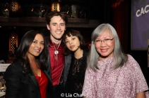 Ernabel DeMillo, Reeve Carney, Eva Noblezada and June Jee. Photo by Lia Chang