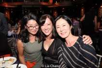 Vivian Lee, Susan Kim Tsui and a guest. Photo by Lia Chang