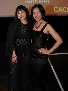 Eva Noblezada and Lia Chang. Photo by Alan Muraoka