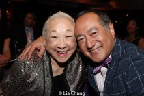 Lori Tan Chinn and Alan Muraoka. Photo by Lia Chang