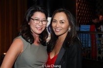 Vivian Lee and Ernabel DeMillo. Photo by Lia Chang