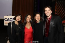 Eva Noblezada, Ernabel DeMillo, Ayesha Vera-Yu and Reeve Carney. Photo by Lia Chang