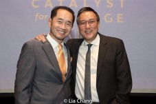Ti-Hua Chang and Alexander Tsui, DMD. Photo by Lia Chang