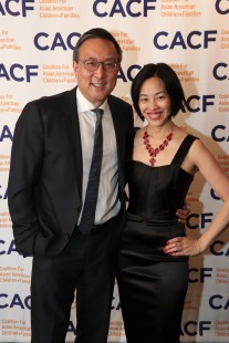 CACF Gala Chair Alexander Tsui, DMD and Lia Chang