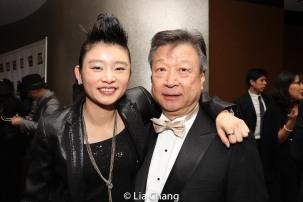 Celia Au and Tzi Ma. Photo by Lia Chang