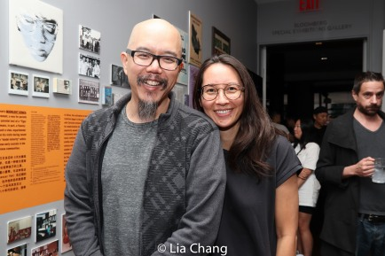 "Scott ""Chops"" Jung and Ursula Liang. Photo by Lia Chang"
