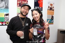 Mikey Fresh and Jo Park. Photo by Lia Chang