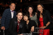 Alan Muraoka, Reeve Carney, Eva Noblezada, Vivian Lee and Ernabel DeMillo. Photo by Lia Chang