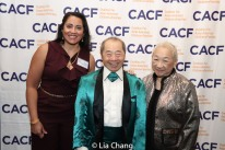 Anita Gundanna, Larry Lee and Lori Tan Chinn. Photo by Lia Chang
