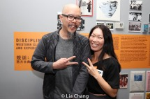 "Scott ""Chops"" Jung and Julie Young. Photo by Lia Chang"