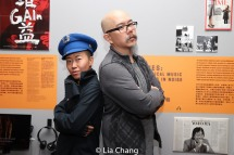 "Mei-yann Hwang and Scott ""Chops"" Jung. Photo by Lia Chang"