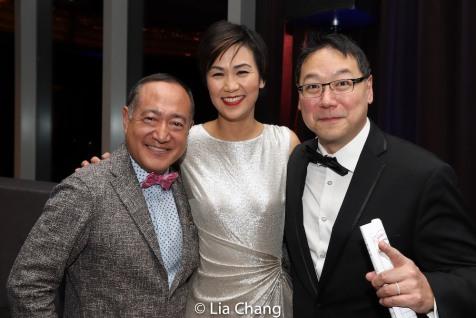 Alan Muraoka, Cindy Cheung and Ed Lin. Photo by Lia Chang