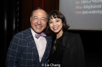 Alan Muraoka and Eva Noblezada. Photo by Lia Chang