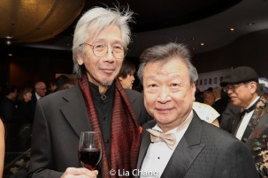 Geoff Lee and Tzi Ma. Photo by Lia Chang