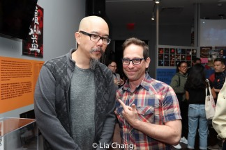 "Scott ""Chops"" Jung and Garth Kravits. Photo by Lia Chang"