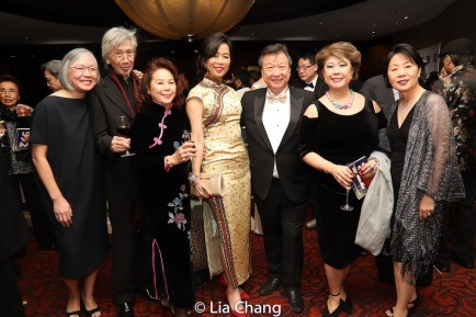 June Jee, Geoff Lee, May Mui, Rozina Leong, Tzi Ma, Chung Seto and Nancy Chu. Photo by Lia Chang