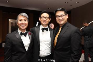 Jason Ma, Yao King and Timothy Huang. Photo by Lia Chang