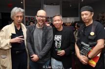 "Geoff Lee, Scott ""Chops"" Jung, Henry Chang and Vic Huey. Photo by Lia Chang"