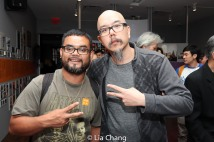 "Hella Chluy and Scott ""Chops"" Jung. Photo by Lia Chang"