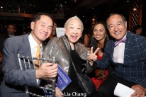 Ti-Hua Chang, Lori Tan Chinn, Ernabel DeMillo and Alan Muraoka. Photo by Lia Chang