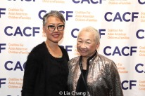 Nina Zoie Lam and Lori Tan Chinn. Photo by Lia Chang