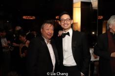 Tzi Ma and Yao King. Photo by Lia Chang