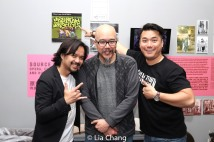 "Seph Duong, Scott ""Chops"" Jung and Patrick Chen. Photo by Lia Chang"
