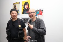 "Vic Huey and Scott ""Chops"" Jung. Photo by Lia Chang"