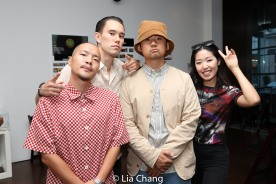 Avec Plasir, Michael Stewart, Jaeki Cho and Joann Park. Photo by Lia Chang