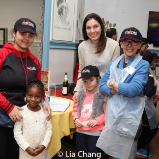 Thanksgiving Day at Encore Senior Center at St. Malachy's in New York. Photo by Lia Chang