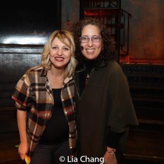 Anaïs Mitchell and Mara Isaacs. Photo by Lia Chang